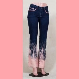 Hand-painted jeans